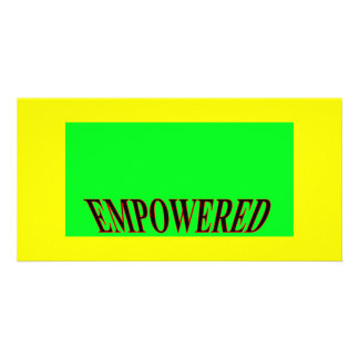 The MUSEUM Artist Series jGibney Happy Empowered Card