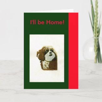 The MUSEUM Artist Series jGibney I'll be Home card
