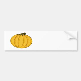 The MUSEUM Artist Series jGibney Pumpkin7tc100 Bumper Sticker