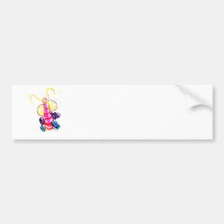 The MUSEUM Artist Series Kaitlyn's Caterpillar Bumper Sticker