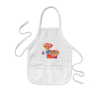 The MUSEUM Artist Series Kaitlyn's Sun and Flower1 Apron