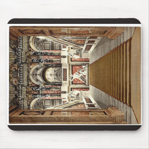 The Museum of Arts, the staircase, Vienna, Austro- Mousepad