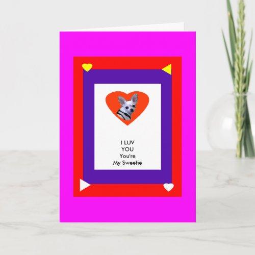 The MUSEUM Zazzle Template 1 Valentine Card-1a2 card
