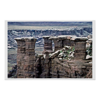 The Mushrooms - Canyonlands National Park Poster
