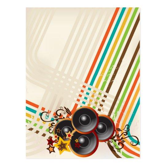 The Music 2 Postcard