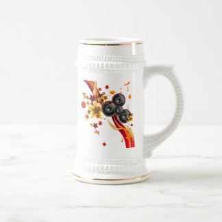 The Music Beer Stein
