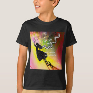 The music brings happiness to our life T-Shirt