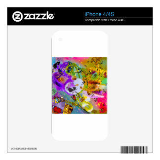 The music can express everything and say nothing. skin for iPhone 4