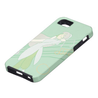 The Music Girl Green iphone case iPhone 5 Case