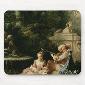 The Music Lesson, 1749 Mouse Pad