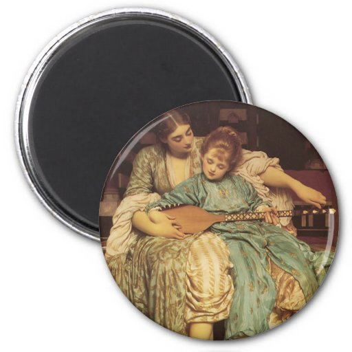 The Music Lesson 2 Inch Round Magnet