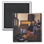 The Music Lesson 2 Inch Square Magnet