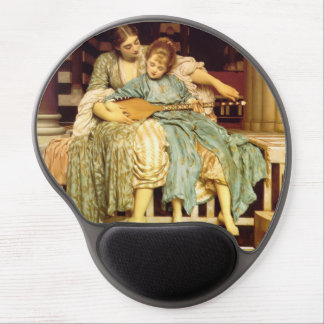 The Music Lesson by Frederic Leighton Gel Mouse Pad