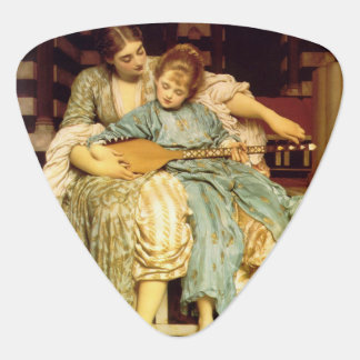The Music Lesson by Frederic Leighton Pick