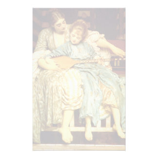The Music Lesson by Frederic Leighton Stationery