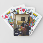 The Music Lesson by Johannes Vermeer Bicycle Playing Cards