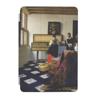The Music Lesson by Johannes Vermeer iPad Mini Cover