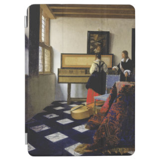 The Music Lesson by Johannes Vermeer iPad Air Cover