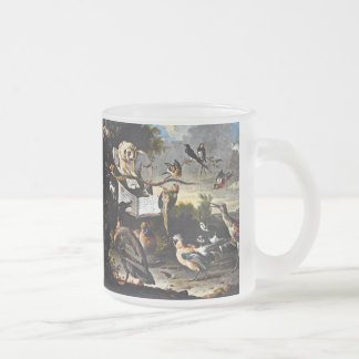 The Music Lesson Frosted Glass Coffee Mug