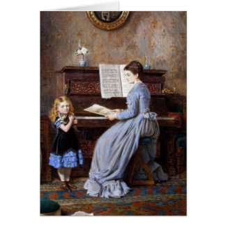 The Music Lesson Greeting Card
