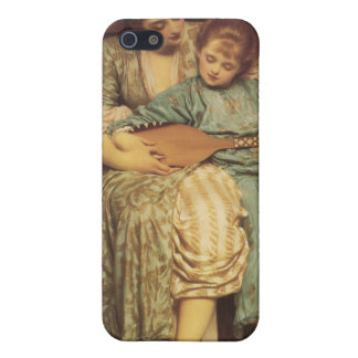 The Music Lesson - Lord Frederic Leighton Case For iPhone SE/5/5s