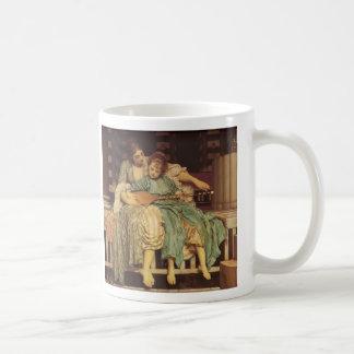 The Music Lesson - Lord Frederic Leighton Classic White Coffee Mug