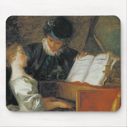 The Music Lesson Mouse Pad
