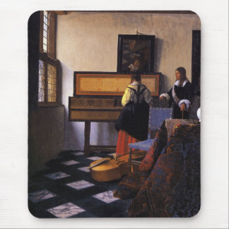 The Music Lesson Mousepads