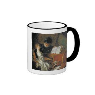 The Music Lesson Ringer Coffee Mug