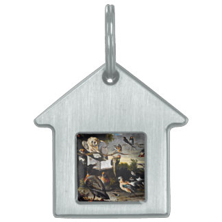 The Music Lesson Pet ID Tags
