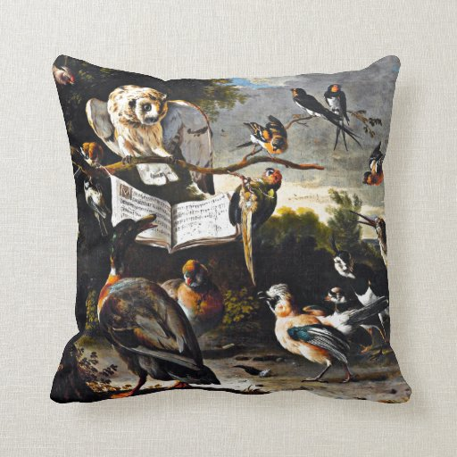 The Music Lesson Pillows