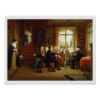 The Music Lesson Poster