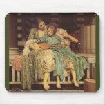 The Music Lesson Pre-Raphaelite Art Mouse Pads