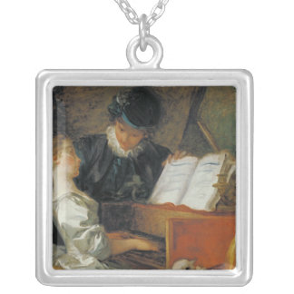 The Music Lesson Silver Plated Necklace