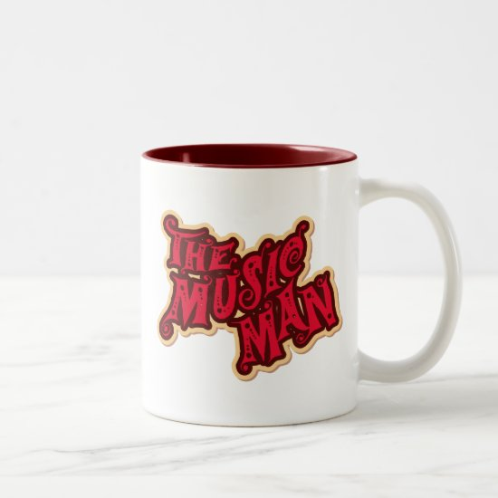 The Music Man Two-Tone Coffee Mug