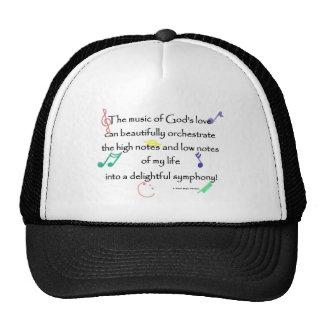 the music of God's love Trucker Hat