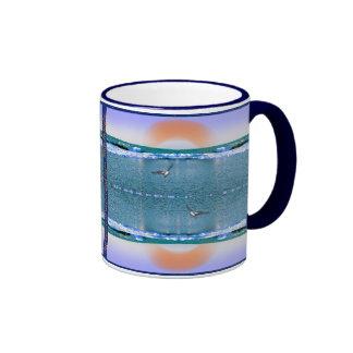 the music of water and light coffee mug