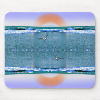 the music of water and light mouse pad
