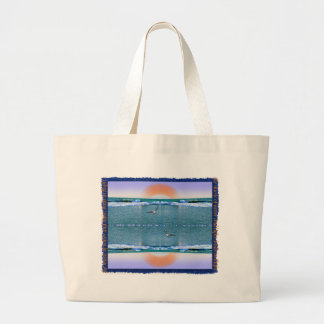 the music of water and light, tote bag