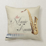 The Music Room 2 Pillow