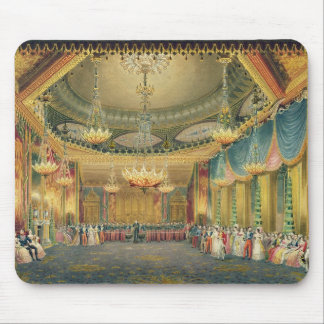 The Music Room, from 'Views of the Royal Pavilion, Mouse Pad