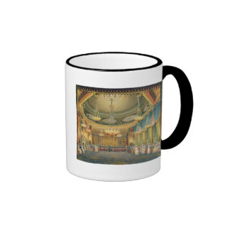 The Music Room, from 'Views of the Royal Pavilion, Ringer Coffee Mug