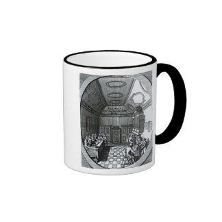 The Music Room Ringer Coffee Mug