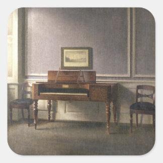 The Music Room Square Sticker