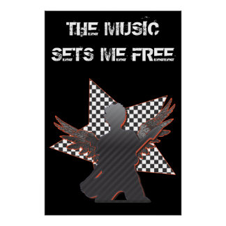 The Music Sets Me Free Print