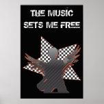 The Music Sets Me Free Print