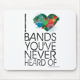The Music Snob Mouse Pad