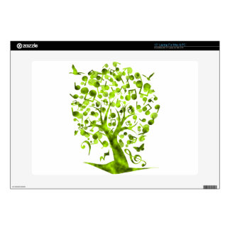 """The_Music_Tree 15"""" Laptop Decals"""