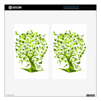 The_Music_Tree Decal For Kindle Fire