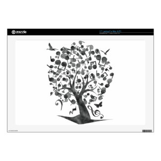 """The_Music_Tree Decals For 17"""" Laptops"""